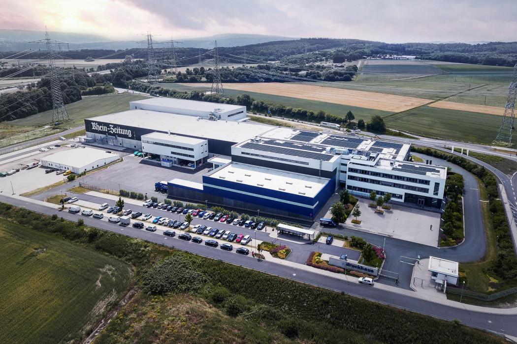 Firmengebäude der Mittelrhein LastMile Express in Koblenz